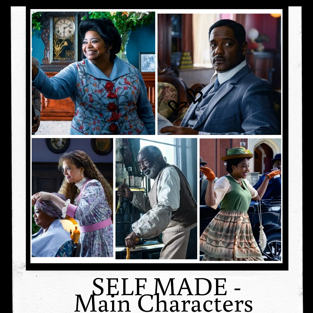 Main Characters of the Movie : Self Made