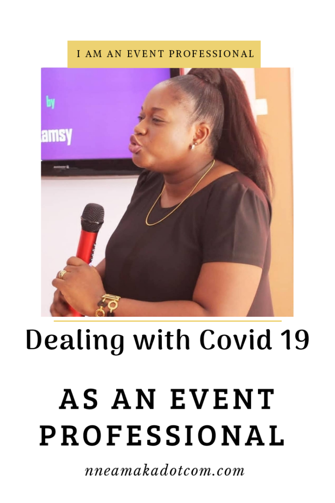Dealing with Covid 19 as an event professional.