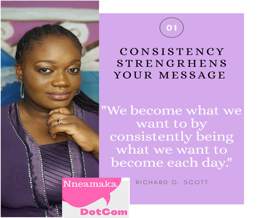 Consistency Strengthens Your Message