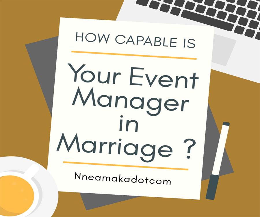 How capable is your event manager in marriage?
